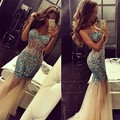 Sexy Mermaid Prom Dresses 2017 Sweetheart Off The Shoulder Beading Crystal Prom Dresses Robe De Soriee vestidos de fiesta