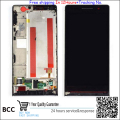 Best quality! Black  LCD Display +Touch Screen Digitizer Assembly For Huawei Ascend P6 P6S  with frame free shipping