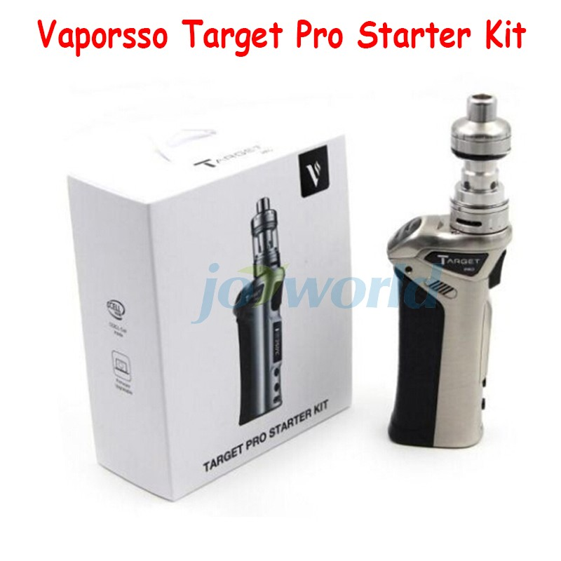 100% Vaporesso TARGET pro VTC 75W Starter Kit new target vtc 75w kit With Ceramic cCELL Tank Coil Temperature Control vapor Mod (6)