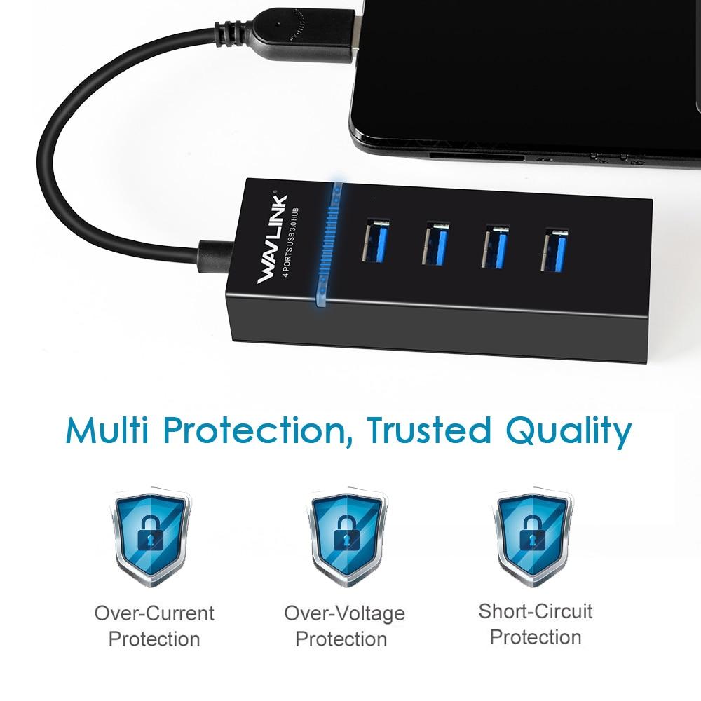 Wavlink բարձր արագությամբ USB3.0 հանգույց - Համակարգչային արտաքին սարքեր - Լուսանկար 3