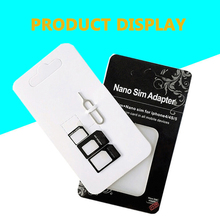 20 Pcs 4 in 1 SIM Card Adapter Connector Kit Sim phone restore card With Pin Convert Nano to Micro Standard