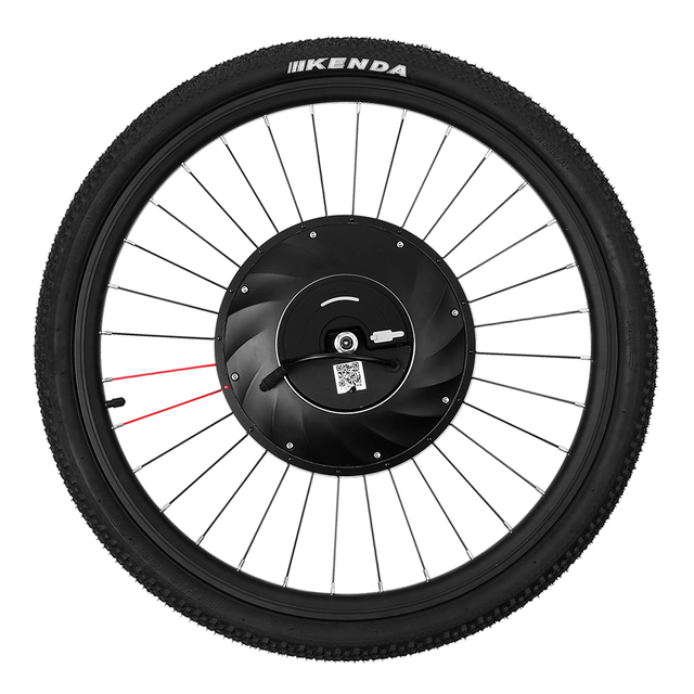 "26"" * 1.95"" Bike Tire Front Wheel Electric Bicycle Disc ..."