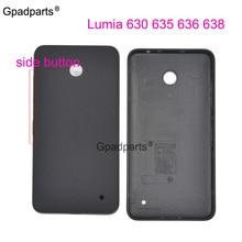 1 шт. для Lumia 630 rm-978 977 Назад задний корпус батареи Чехол для Nokia 635 636 638 с оригинальным качеством боковой кнопки