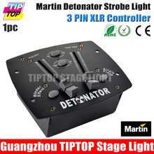 Mini Remote Control 3000 Вт Strobe Light Детонатор DMX Кабель 3 Pin XLR Разъем для Флэш-скорость и Интенсивность Daisy Chain 20 Блок
