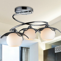 Bedroom Lamp Originality Brief Modern Ceiling Lamp Three Restaurant Ceiling Lamp LED Personality Lamp Living Room