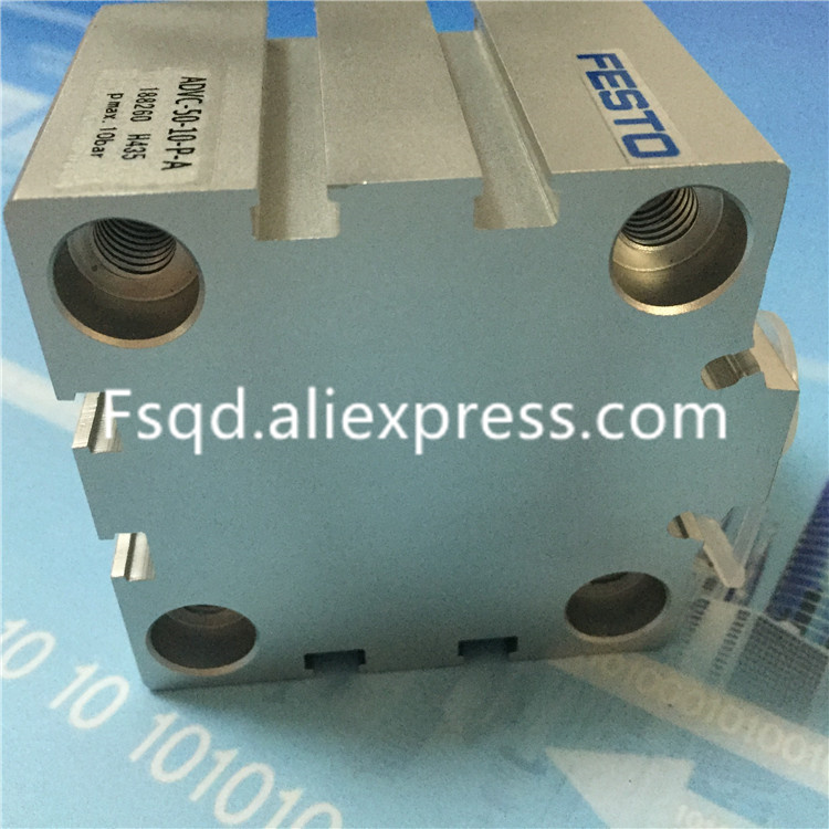 ADVC-16-5-P-A ADVC-16-10-P-A ADVC-16-15-P-A ADVC-16-20-P-A ADVC-16-25-P-A pneumatic cylinder  FESTO dhl ems new festo short stroke cylinder advc 12 10 a p a for industry use a1