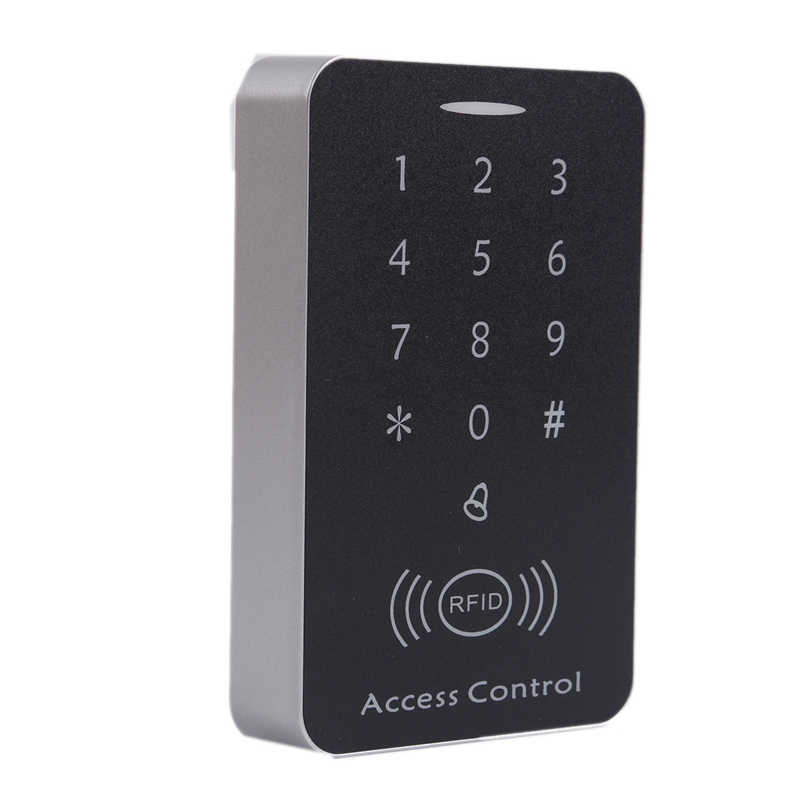 OWGYML Rfid Lock System 125KHz Door RFID Card Password Access Controller with Keypad Machine Controller Keypad ID Card Reader leshp 125khz rfid keypad access control system digital keyboard door lock controller rfid card reader with 10pcs tk4100 keys