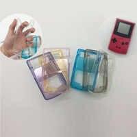 Funda protectora transparente TPU Gamepad para Nintendo GBC Console Protection Clear Case Cover accesorios Nintend 4 colores