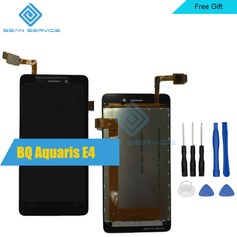 Per BQ Aquaris E4 LCD nel telefono Cellulare Display LCD + Touch Screen Digitizer Assembly 4.0 in azionePer BQ Aquaris E4 LCD nel telefono Cellulare Display LCD + Touch Screen Digitizer Assembly 4.0 in azione