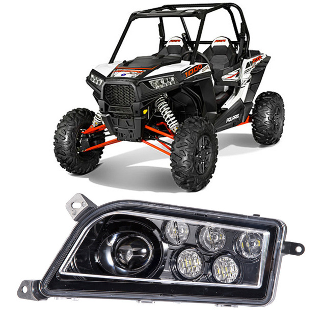 2017 For Polaris Rzr 900 S Electric Led Headlights Conversion 1000 Style With Colourful