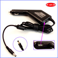 19V 3.42A 65W Laptop Car DC Adapter Charger + USB(5V 2A) for Lenovo IdeaPad G400 G550 G450 G455 G470 G475 G500