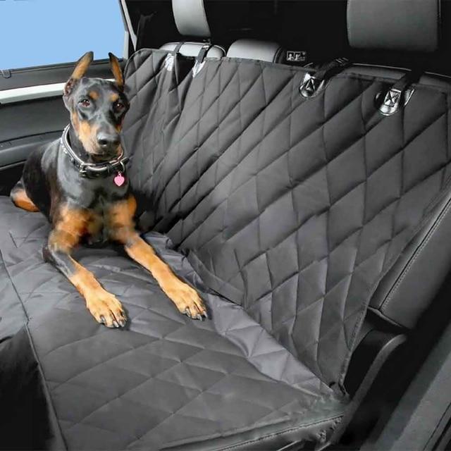 Universal Pet Fahrzeug Sitzbezug 58x54 zoll Rutschfeste Umklappbaren Rückenkissen Auto Kofferraummatte