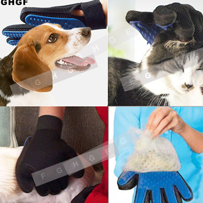 Silicone Cat Gloves Hair Comb Pet Bath Brush Gentle Efficient Massage Grooming And For Pet Washing Gloves Goods Hair Pet Finger #6