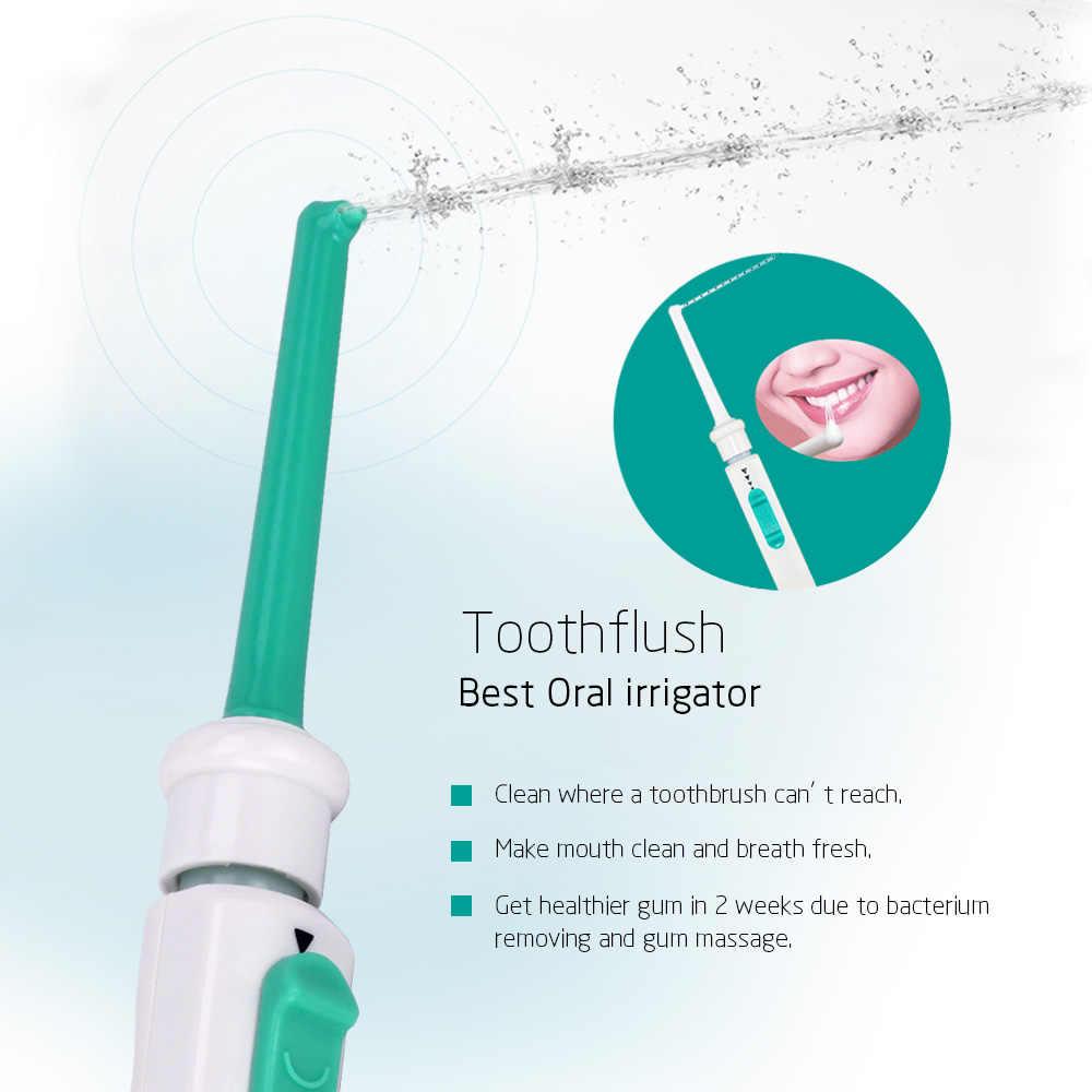 Eau dentaire Flosser robinet Oral irrigateur Jet d'eau fil dentaire irrigateur dentaire choisir Irrigation orale dents nettoyage Machine