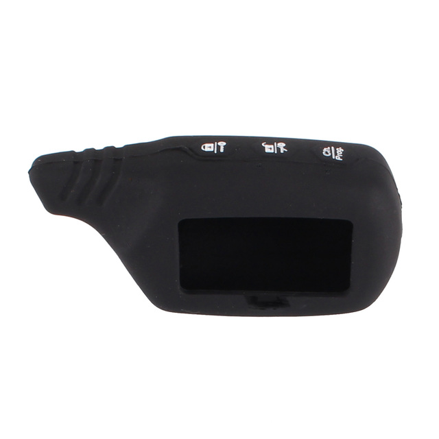KEYYOU Silicone Rubber Key Cover For Starline B91 B61 A91 A61 KGB FX-5 Jaguar Ez-One LCD Keychain 2 Way Alarm Remote Key Case