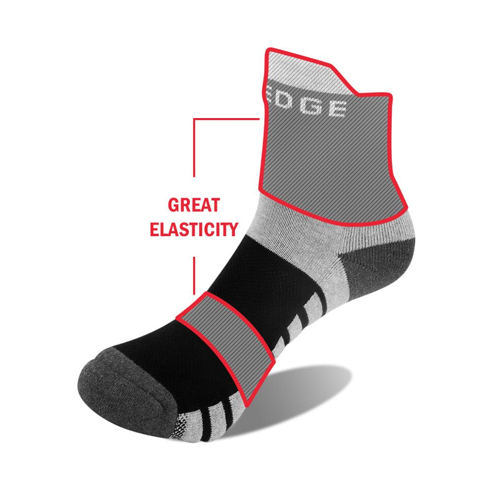 Image 3 - YUEDGE Unisex  Wicking Cushion Cotton Ankle Socks Casual Cycling Running Tennis Sports Socks for Men and Women( 5 Pairs/Pack)-in Men's Socks from Underwear & Sleepwears