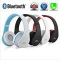 Manos libres Estéreo Plegable Auriculares Inalámbricos Casque Audio Auricular Bluetooth Inalámbrico Auriculares para Ordenador PC Conjunto de Auriculares