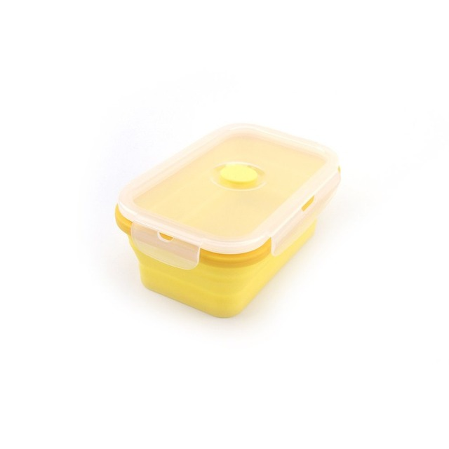 Folding Silicone Microwave Food Box