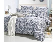 Комплект постельного белья полутораспальный СайлиД, A, серый, с узором