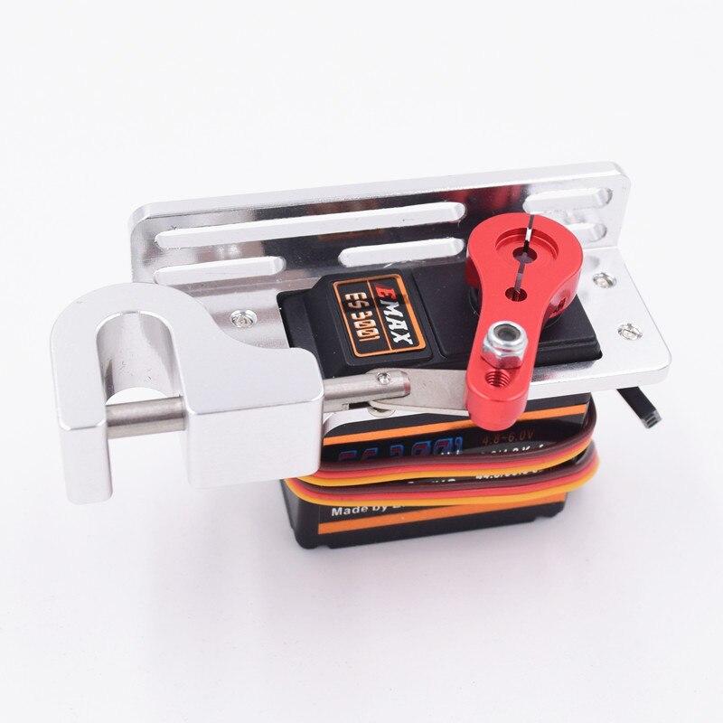 Oyuncaklar ve Hobi Ürünleri'ten Parçalar ve Aksesuarlar'de Servo Parabolik Anahtarı Cihazı Hava Aracı Atmak Cihazı Tarot Dağıtıcıları Servo Kol Için Uzaktan Kumanda Araba RC ES3001 title=