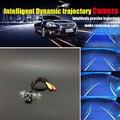 HD CCD Ночного Видения Автомобиля Интеллектуальную Динамическую Траектории Обратный Заднего Вида Камеры Для Citroen Отправка/Jumpy/Fiat scudo