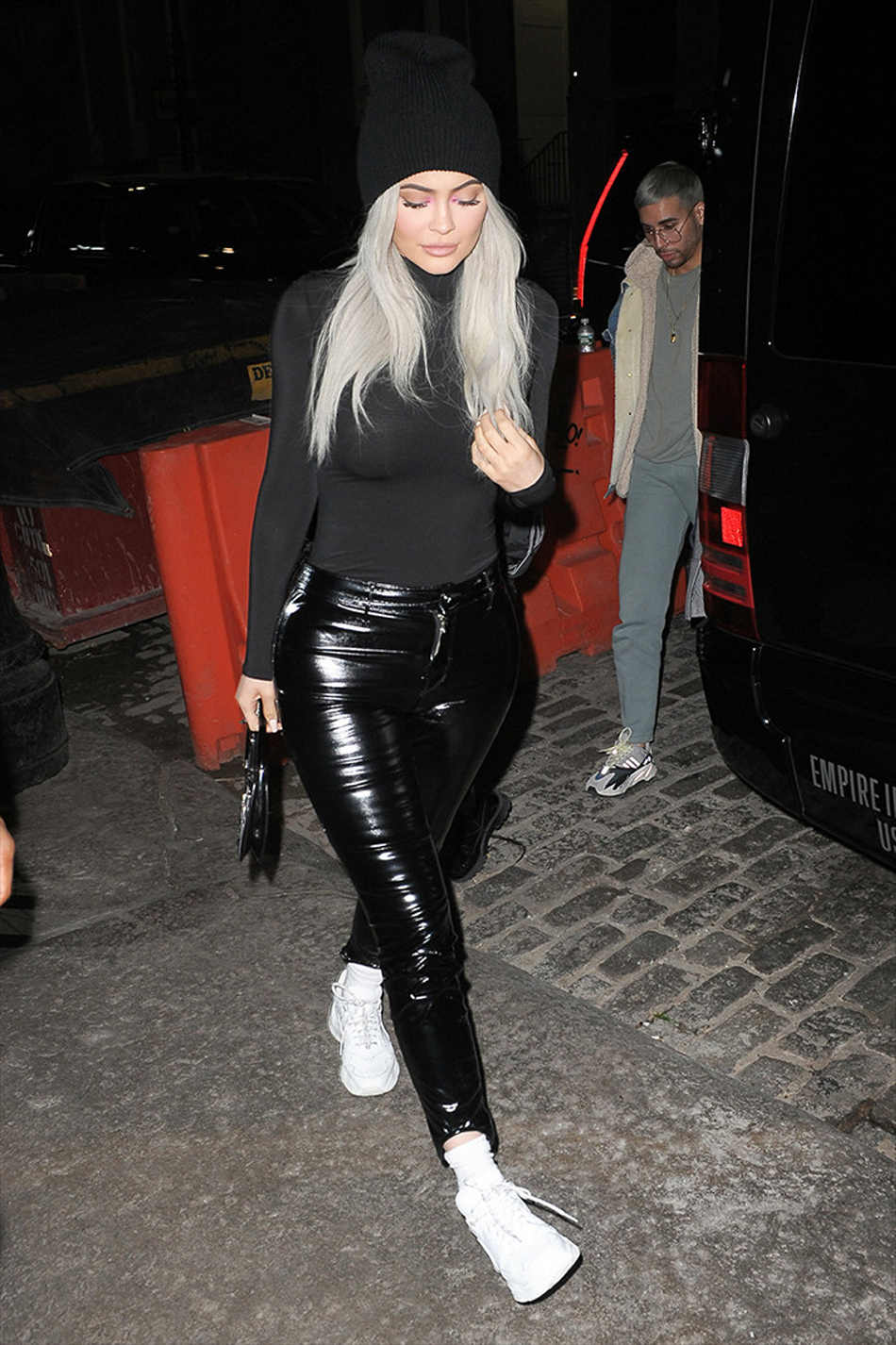 Знаменитостей Kyliejenner боди облегающее черное/телесное Ночное боди женские осенние с длинным рукавом сексуальные боди Женские базовые боди
