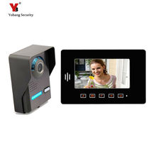 Yobang Security freeship 7″ video intercom LCD Door Monitor full-touch screen Video Intercom With  Camera Outdoor door phone
