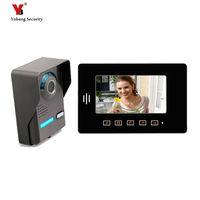Yobang Security freeship 7 video intercom LCD Door Monitor full touch screen Video Intercom With Camera Outdoor door phone