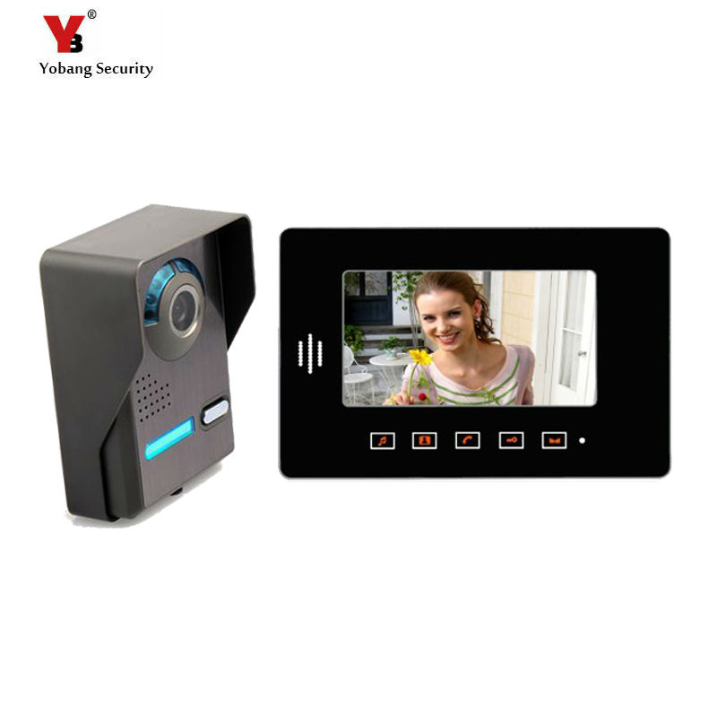 Yobang Security freeship 7 video intercom LCD Door Monitor full-touch screen Video Intercom With  Camera Outdoor door phoneYobang Security freeship 7 video intercom LCD Door Monitor full-touch screen Video Intercom With  Camera Outdoor door phone