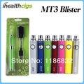 Evod MT3 MT3 E Cigarette Starter Kits Blister E Cigs MT3 atomizador EVOD batería cigarrillo electrónico Ego envío gratuito