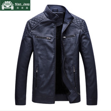Brand 2018 New Men Leather Jackets High Quality Motorcycles British Bu