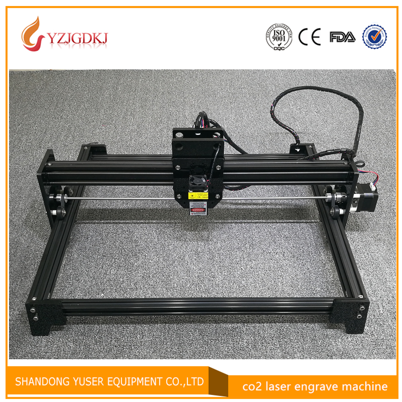 2018 new laser engraving machine high-power laser engraving machine black aluminum laser cutting machine working size 30 * 40cm high precision new model 2d 600x900mm cheap laser engraving machine