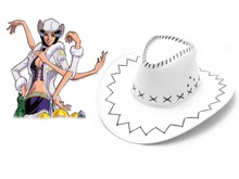 Nico Robin Cowboy Hat red white purple black