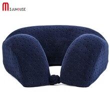 U Model Memory Pillow Travel Velvet Anti- Static Foam Healty Neck  Nap Car Christmas presents