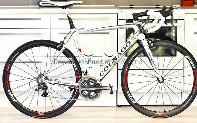 New Carbon Road Bike Colnago Complete Carbon Road Bike White Color ...
