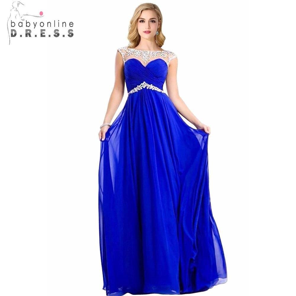 royal blue prom dresses - 679×1000