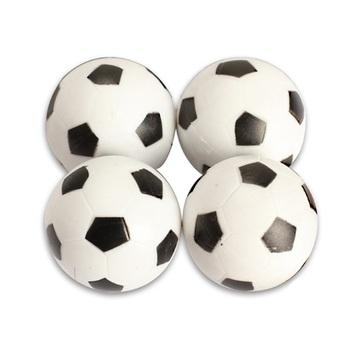 Nowy 4 sztuk 32mm z tworzywa sztucznego piłkarzyki do piłkarzyków piłka do piłki nożnej Fussball tanie i dobre opinie 8 lat Sport Football Unisex