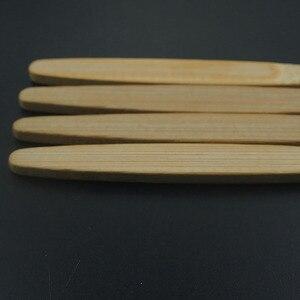 Image 3 - DR. PERFECT 100 шт./лот деревянная мягкая Экологически чистая бамбуковая язык зубная Щетка скребок уход за полостью рта мягкая щетина