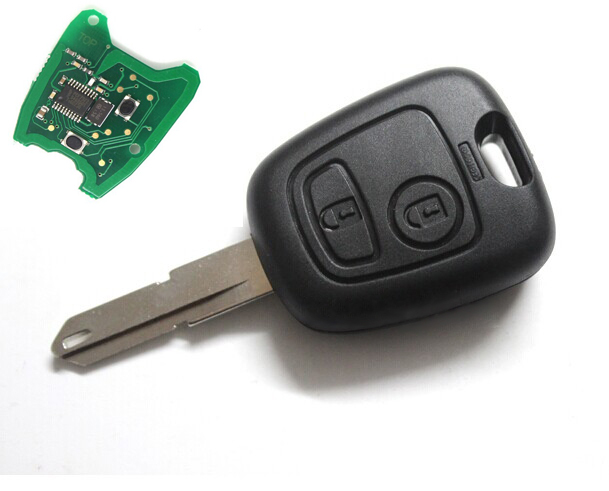 free shipping 433mhz 2 buttons remote key fob. Black Bedroom Furniture Sets. Home Design Ideas