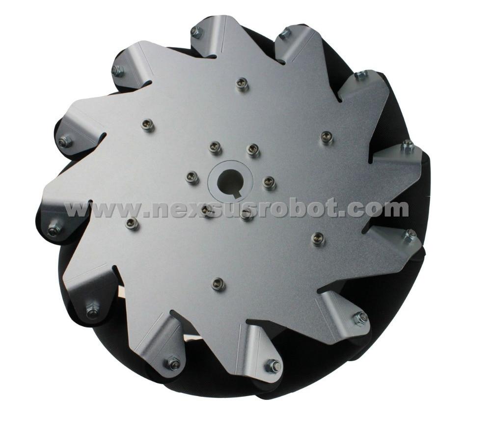 10 Inch Heavy Duty Mecanum Wheel Left Nexus 14129( Load Capacity:70kg/pcs) 4 inch 100mm left mecanum wheels online wholesale