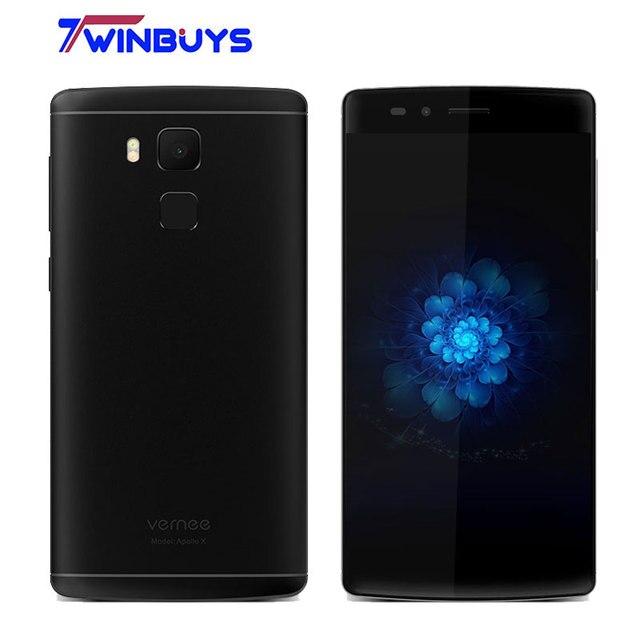 2017 Vernee Apollo X Mobile Phone Helio X20 Deca Core 2.3Ghz 4G RAM 64G ROM 13MP 5.5 Inch FHD Fingerprint 3500mAh 4G smartphone