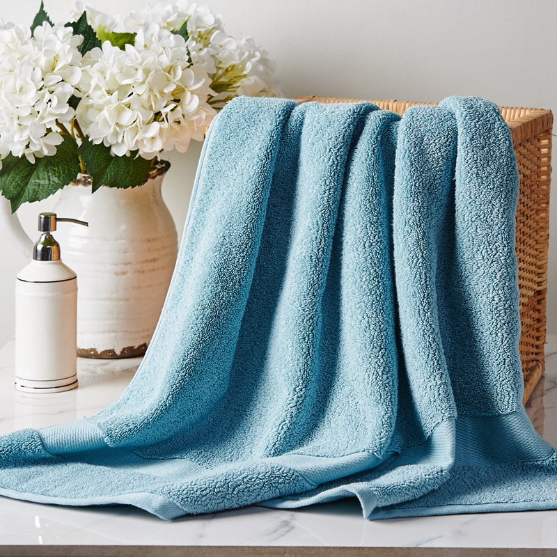 75*145cm 700g Antibacterial Cotton Bath Towels For Adults