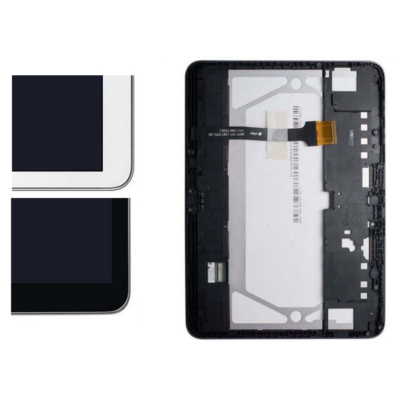 LCD Display Screen Panel + Touch Screen Sensor Panel Digitizer Assembly Frame For Samsung Galaxy Tab 4 SM-T530 T531 T535 T530