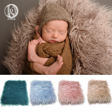 цены D&J Newborn Faux Fur Prop Basket Filler Stuffer Photo Props Baby Fotografia Photography Backdrop Background Blanket Infant Shoot
