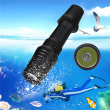 1PC Underwater Cycling Bike Head Front Light Bicycle Light XM-L2 LED Scuba Diving Flashlight Torch 18650 Light Underwater 100m