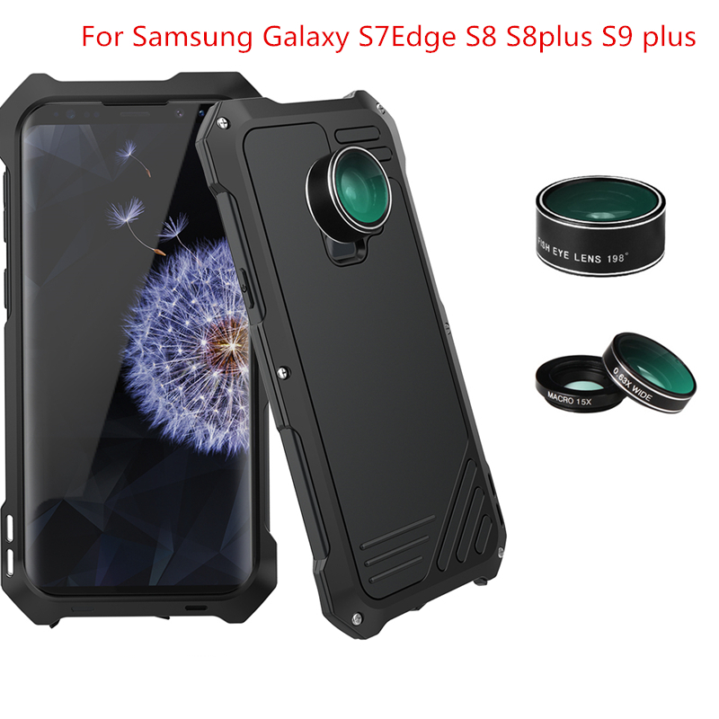Photographer Photo Case For Samsung Galaxy S9 S9plus S8 S8Plus S7Egde Lover Touring Accessories Fish Eye Wide Angle Macro Lens
