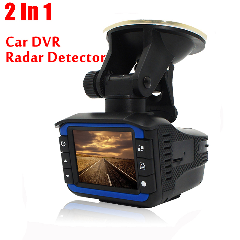 Excellent 2 In 1 Anti Laser Car Radar Detector G sensor DVR Camera Recorder 140 Degree