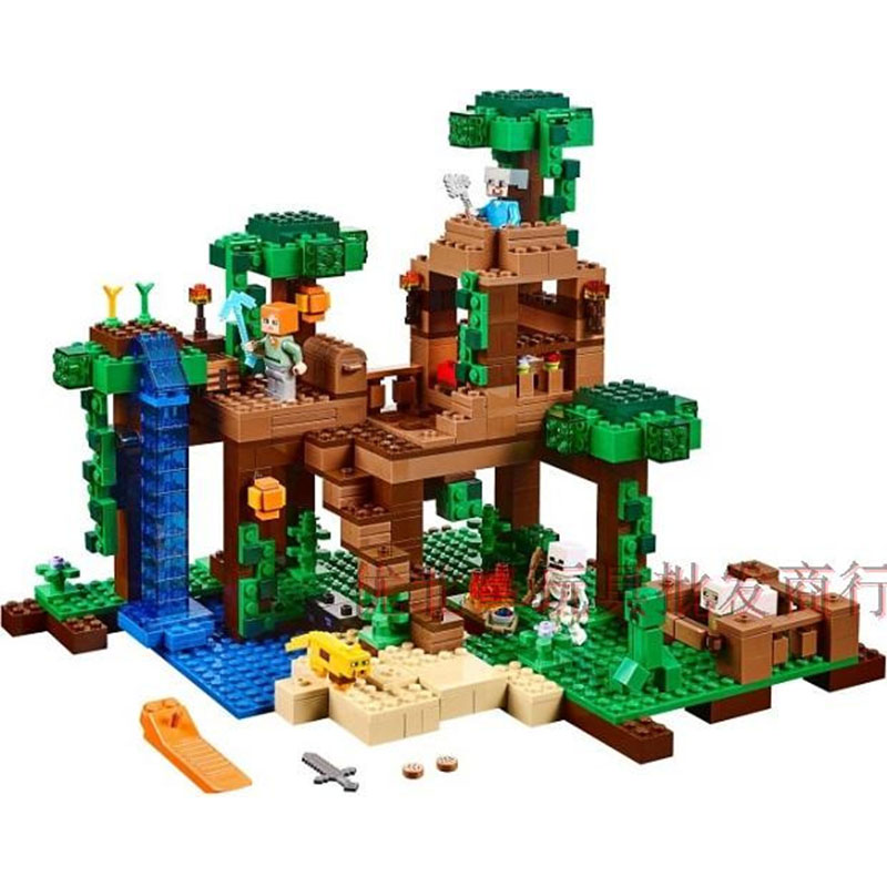Compatible Legoe giftse Minecrafte My World Zombies Building Blocks Bricks Toys compatible legoe giftse 1118pcs 10170 series housework time panorama 3185 girls friends building blocks bricks toys