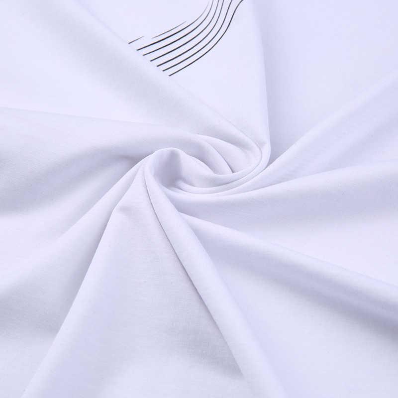 2019 חדש אופנה מותג חולצת טי גברים V צוואר מוצק צבע קיץ מגמות Streetwear חולצות למעלה כיתה הדפסה קצר שרוול טי גברים בגדים