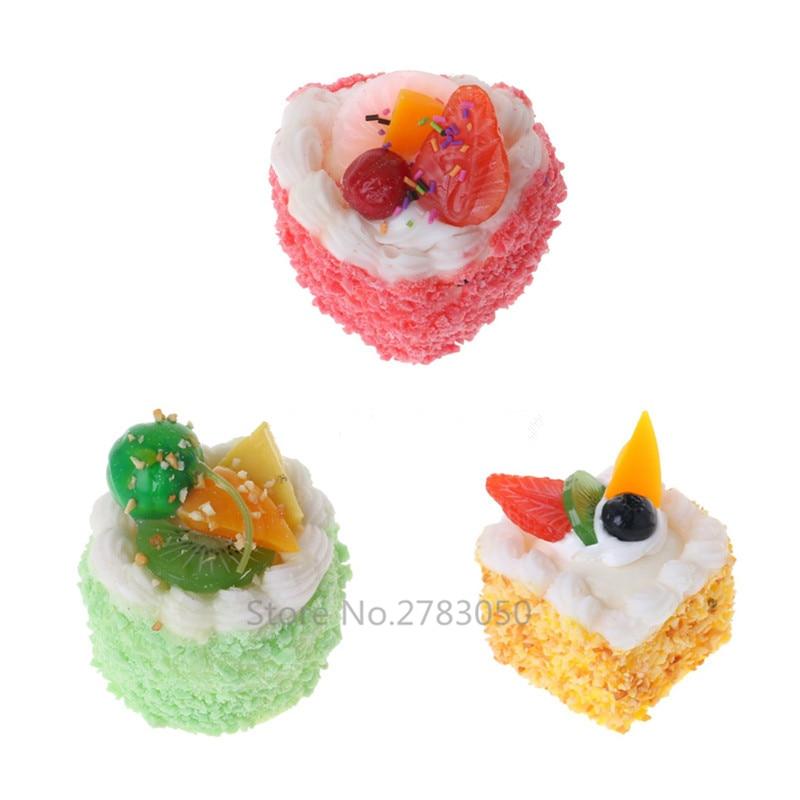 1 String Fake Food Foam Apple Toy Display Model Toy Kids Pretend Play Props